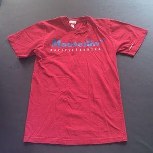 Moosejaw Red T-Shirt